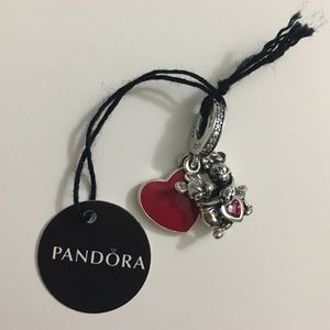 Mickey and Minnie Love Pandora charm